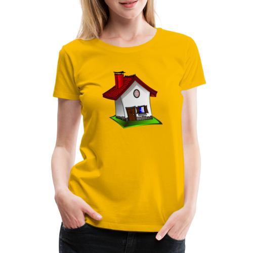 Haus - Frauen Premium T-Shirt
