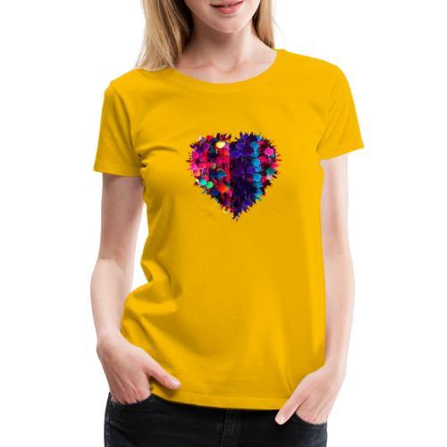 Heart - Camiseta premium mujer