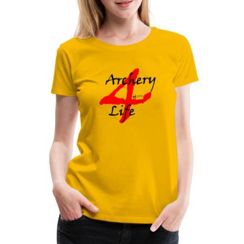 Archery4Life - Frauen Premium T-Shirt