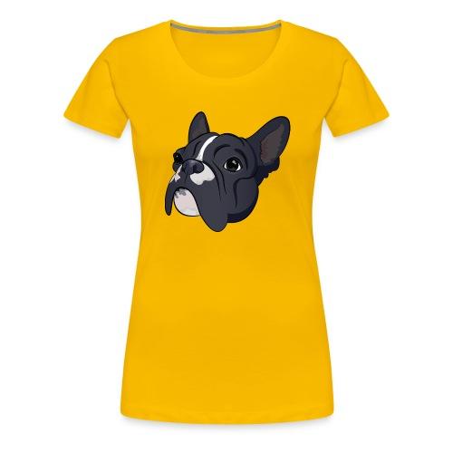 Franse bulldog - Vrouwen Premium T-shirt