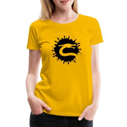 Dragemester_Sort - Dame premium T-shirt