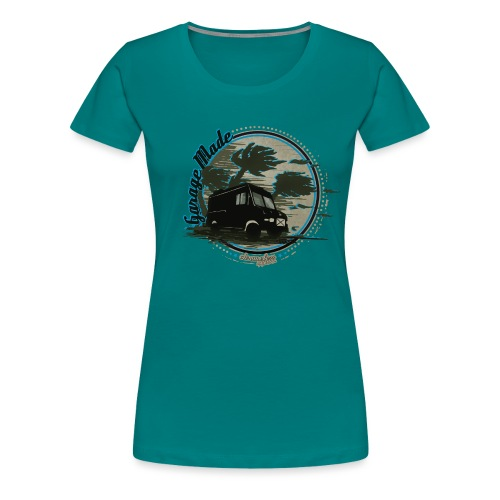 CHROMELESS GARAGE MADE VOL 2 - Frauen Premium T-Shirt