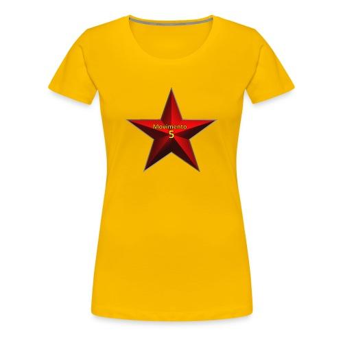 Movimento 5 Stelle - Maglietta Premium da donna