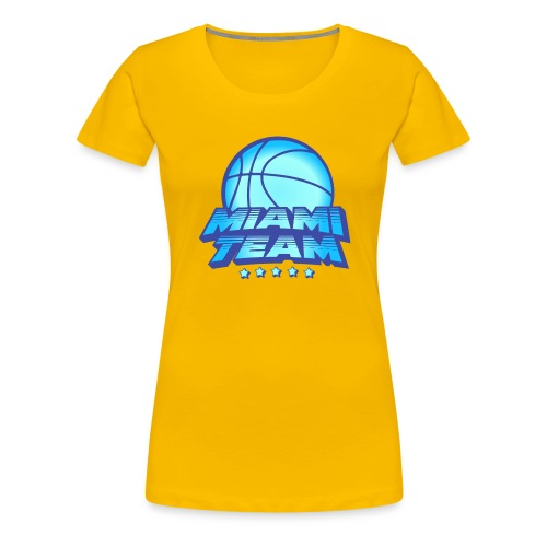 miami team - T-shirt Premium Femme