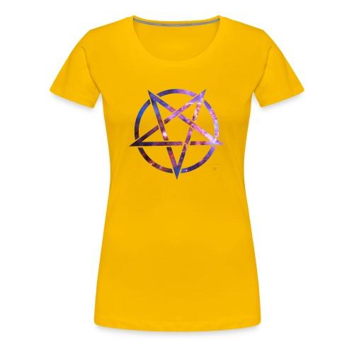 Cosmic Pentagramm - Women's Premium T-Shirt