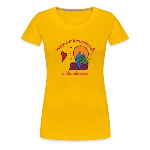 Ullihunde - Wege zur Freundschaft - Frauen Premium T-Shirt