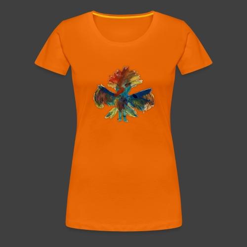 Mayas bird - Women's Premium T-Shirt