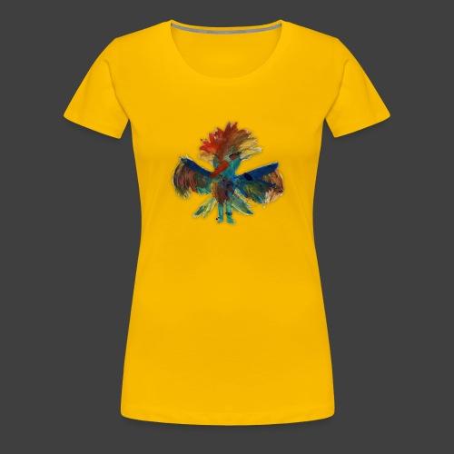 Mayas bird - Premium-T-shirt dam