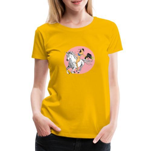 unicorn laser bikini girl - Women's Premium T-Shirt