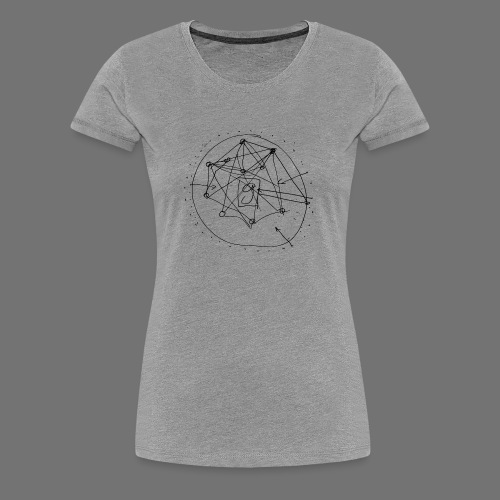 SEO Strategy No.1 (black) - Women's Premium T-Shirt