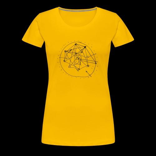SEO Strategy No.1 (black) - Frauen Premium T-Shirt