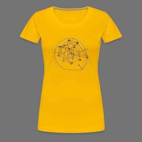 SEO Stratégie n ° 1 (noir) - T-shirt Premium Femme