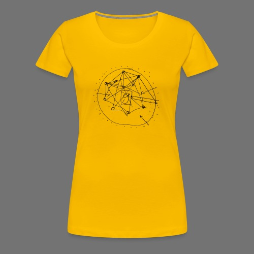 Strategia SEO nr 1 (czarny) - Koszulka damska Premium