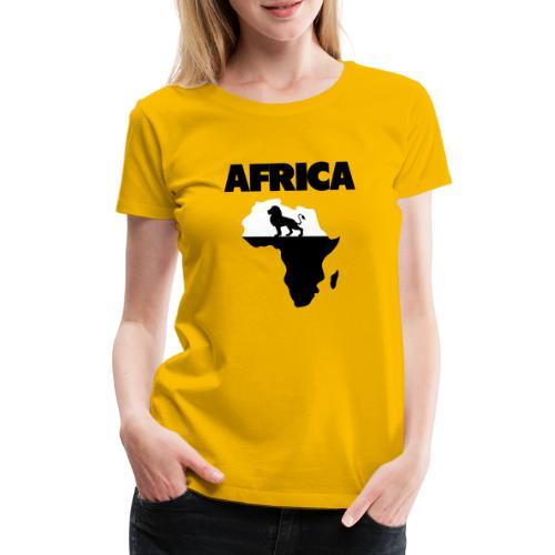Africa - T-shirt Premium Femme