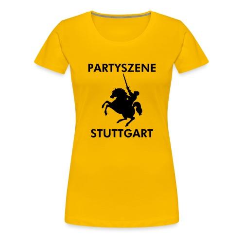 Partyszene Stuttgart - Frauen Premium T-Shirt