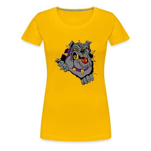 bulldog - Vrouwen Premium T-shirt