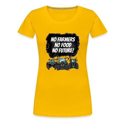 food tshirt F - Vrouwen Premium T-shirt