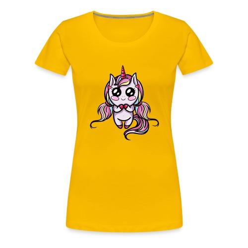 Licorne Kawaii - T-shirt Premium Femme
