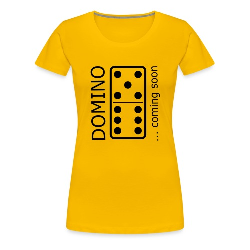 domino11 coming soon - Frauen Premium T-Shirt