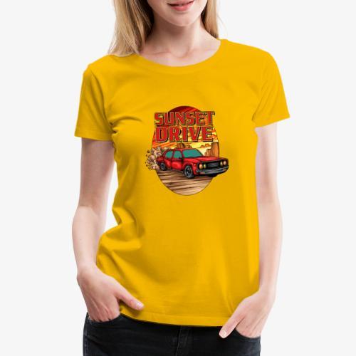 Sunset Drive - T-shirt Premium Femme