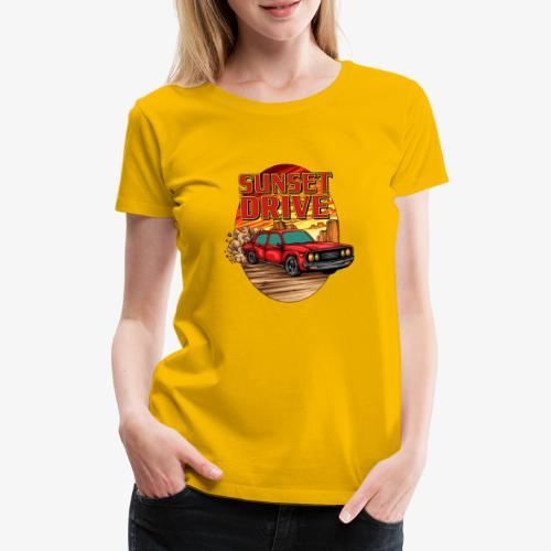 Sunset Drive - Frauen Premium T-Shirt