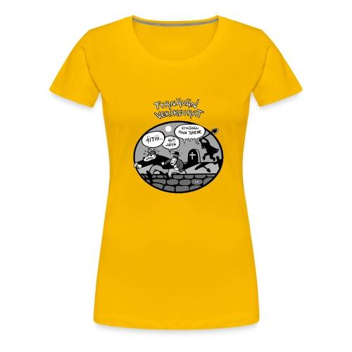 Tyrnävän Verikoirat 6 - Naisten premium t-paita