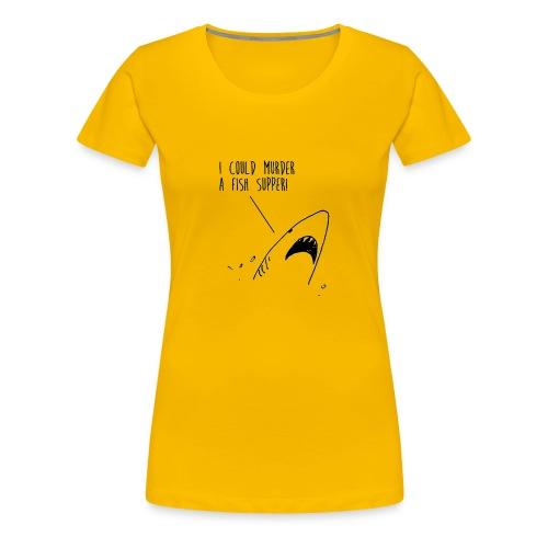 shark1 png - Women's Premium T-Shirt