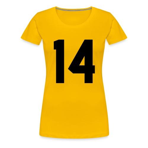 14 - Vrouwen Premium T-shirt