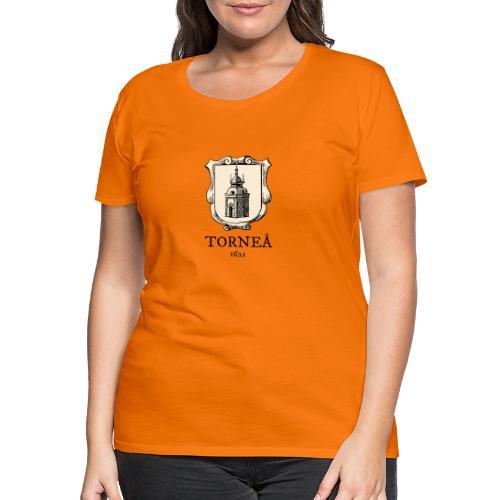 Torneå 1621 - Naisten premium t-paita