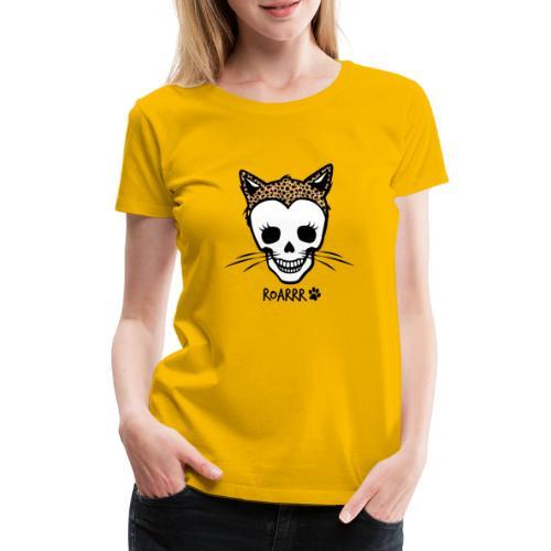 Wild-Katzen-Liebe - Frauen Premium T-Shirt