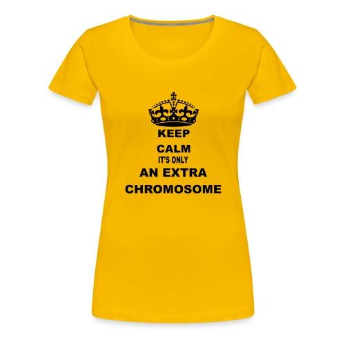Extrachromosome1 - Vrouwen Premium T-shirt