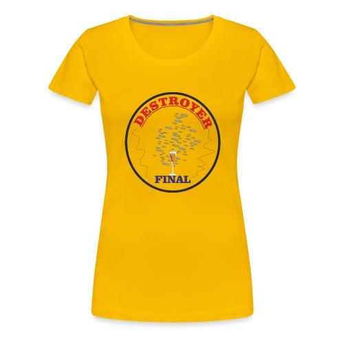 destruccion - Camiseta premium mujer