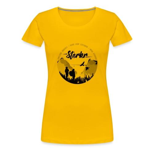 STERKR - Fjordview - Vrouwen Premium T-shirt