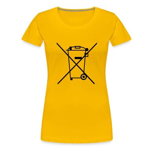 Separate Collection - Vrouwen Premium T-shirt