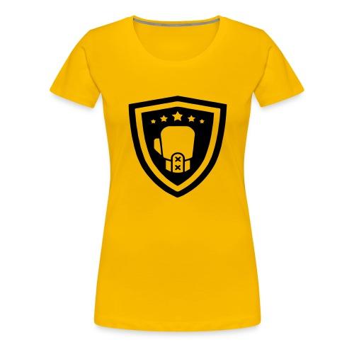 mitch gym schild - Vrouwen Premium T-shirt