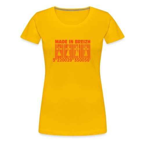 Made in Breizh - T-shirt Premium Femme