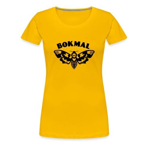 BOKMAL - Premium-T-shirt dam