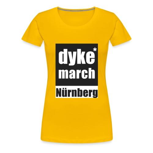 DYKE*MARCH STORE - Nürnberg - Frauen Premium T-Shirt