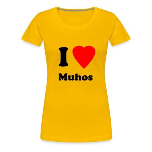 muhos1 - Naisten premium t-paita