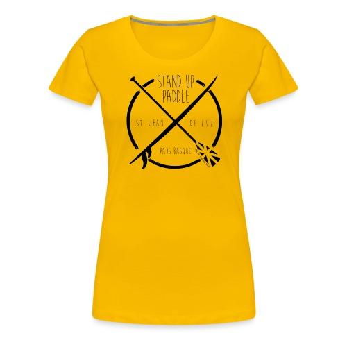 SUP-cross-black - T-shirt Premium Femme
