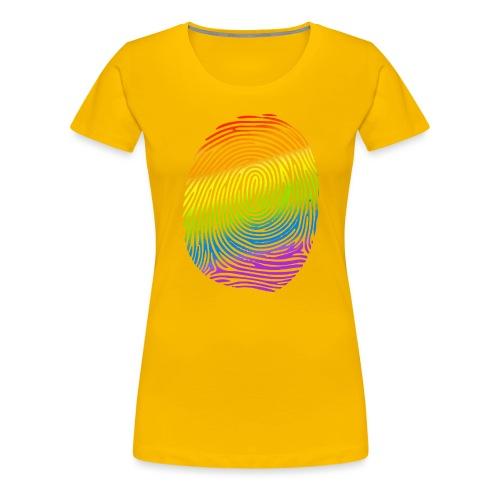 Huella LGBT - Camiseta premium mujer