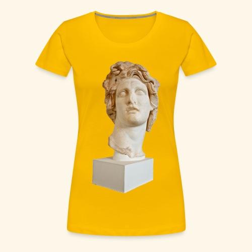 Roman Statue MACINTOSH PLUS - リサフランク420 / 現代のコンピュー - T-shirt Premium Femme