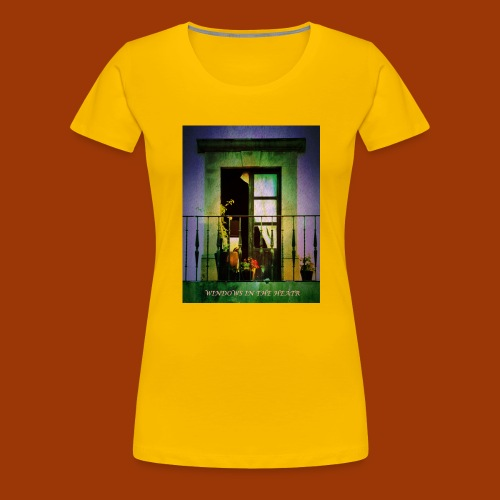 Windows in the Heart - Women's Premium T-Shirt