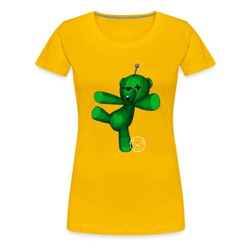 zombear voodoo #2 - T-shirt Premium Femme