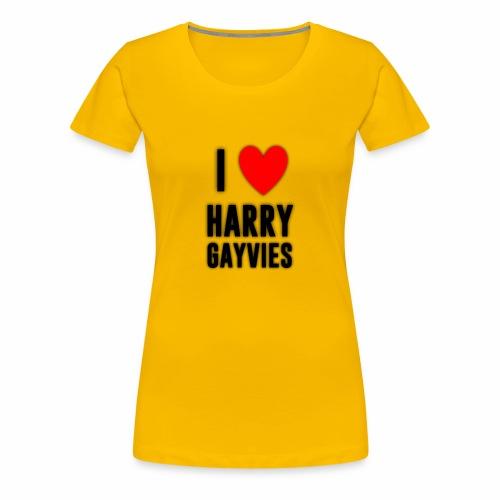 I <3 Harry Gayvies - Women's Premium T-Shirt