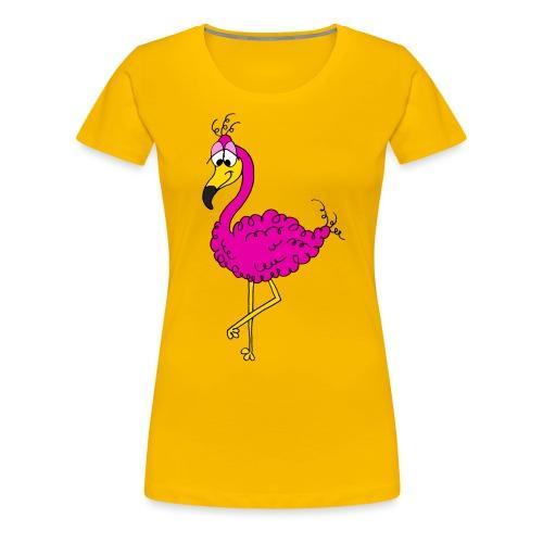 Flauschimingo - Frauen Premium T-Shirt