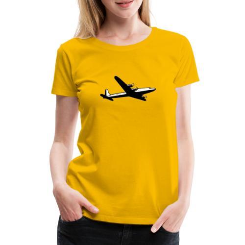 Airplane clothing for travel junkies - Vrouwen Premium T-shirt