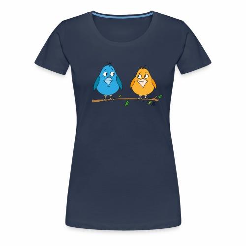 Birds - Frauen Premium T-Shirt