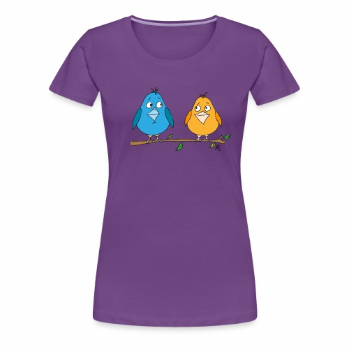 Birds - Frauen Premium T-Shirt