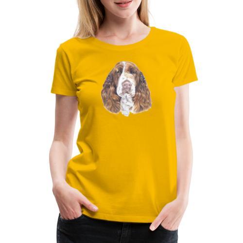 engelsk Springer Spaniel - Dame premium T-shirt